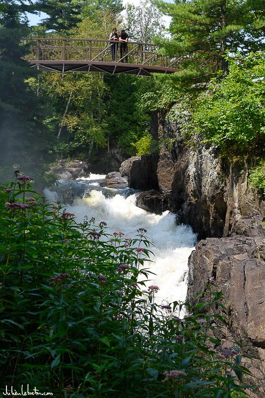 Parc des chutes Sainte Ursule