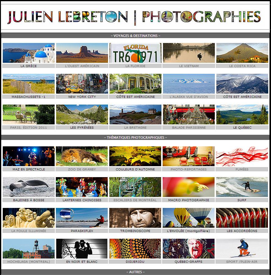 Photos de Julien Lebreton