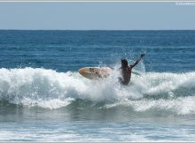 Images du Costa Rica par Julien Lebreton - Session de surf