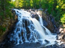 Photo des laurentides - chute du diable