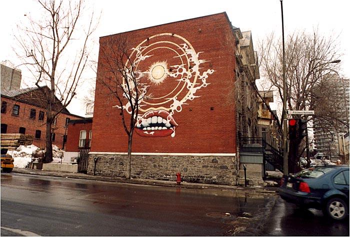 Plus ancien graffiti de Montréal datant de 1976